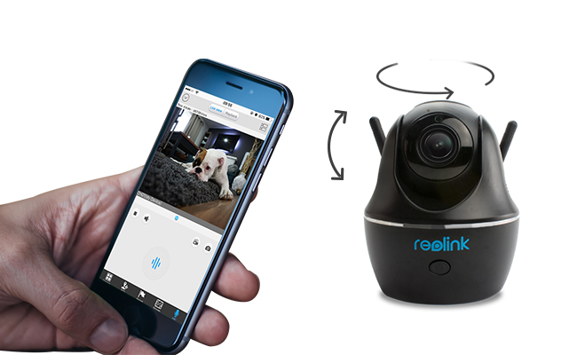 PoE PT Camera for Small Apartment
