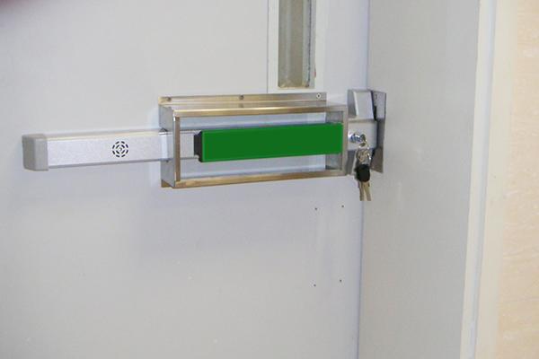 Basement Door Lock