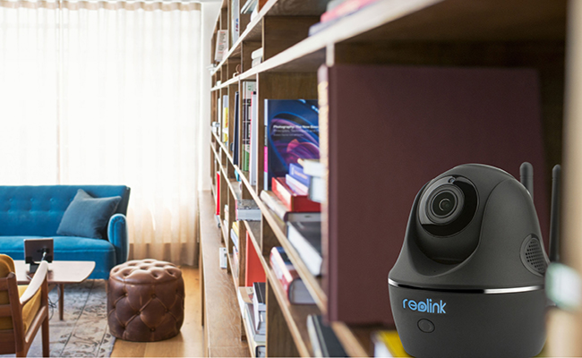 Covert Indoor IP IR WiFi Security Camera for Home
