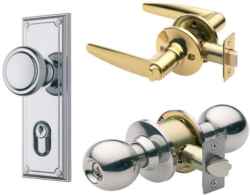 Secure Front Door Hardware
