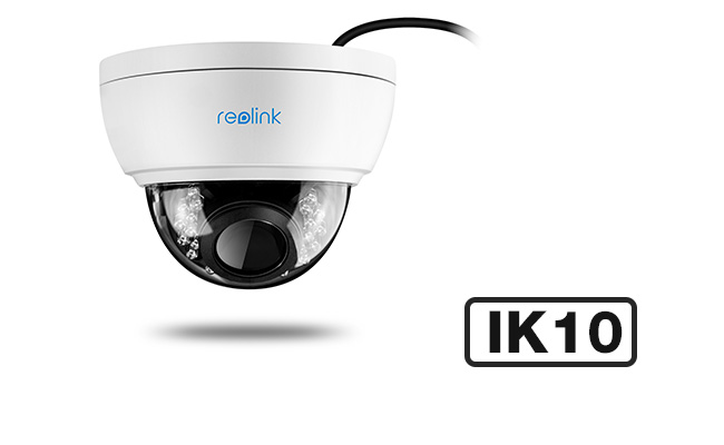 Outdoor Vandal Proof Dome IR Camera