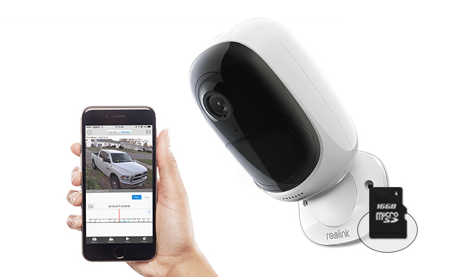 Security Cameras with SD Card