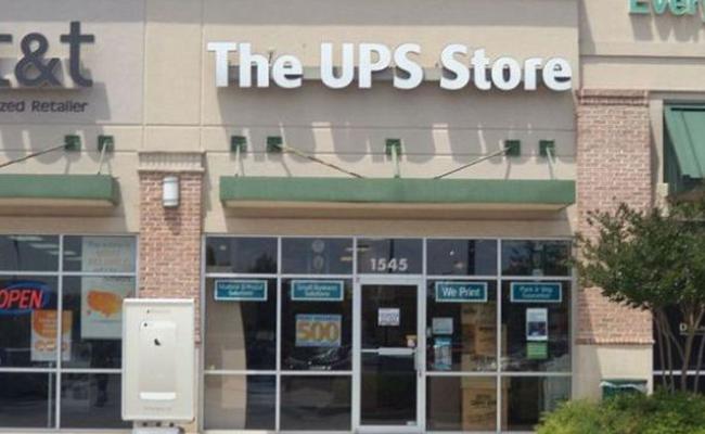 The UPS Store Front Door