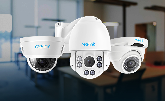 PoE Dome IP Security Cameras