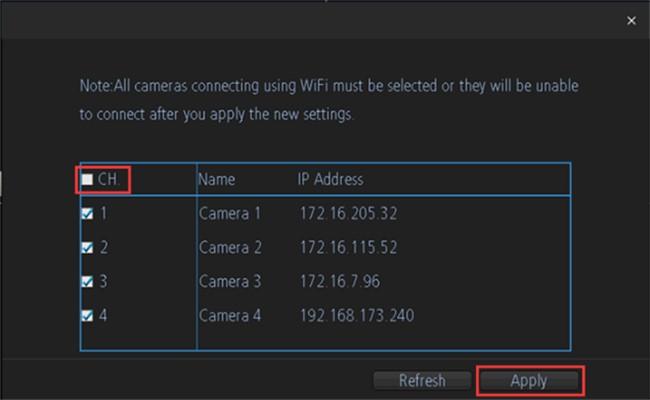 Apply IP Address