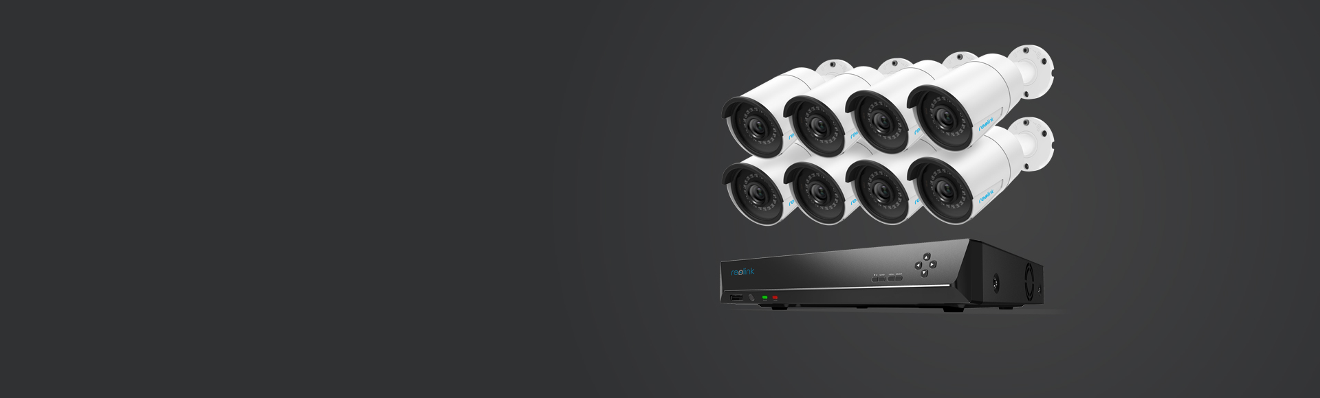 Reolink RLK16-410B8 - 16-Channel PoE Security Camera System