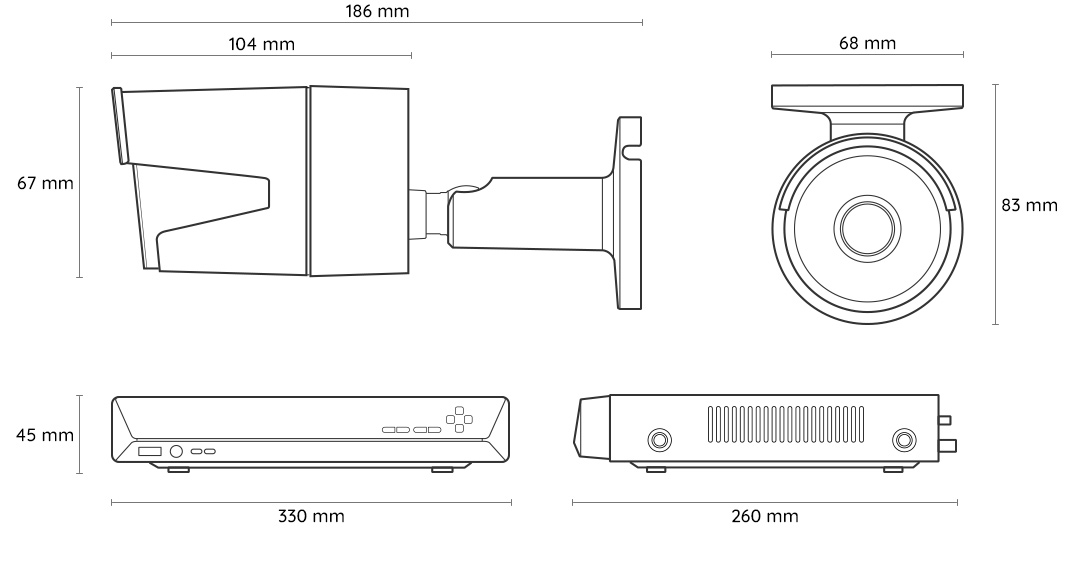 Reolink Rlk16 410b8 16 Channels 8 Cameras Poe System