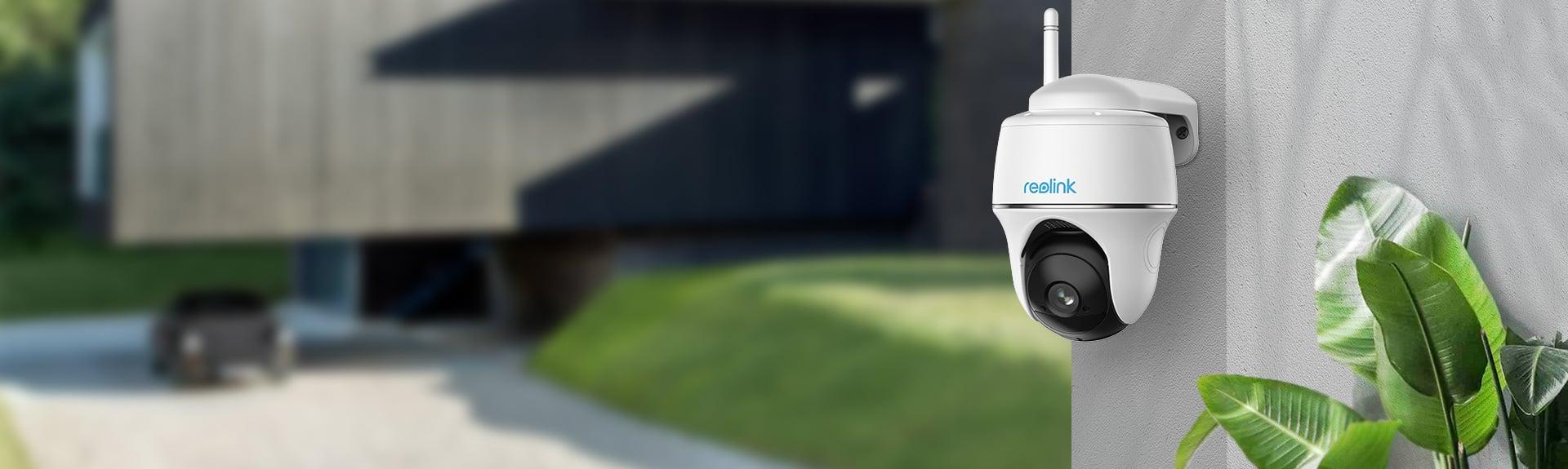 Argus PT kabellose IP Kamera mit Solarpanel
