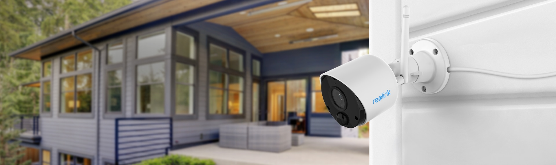 Wireless Security Camera with PIR Motion