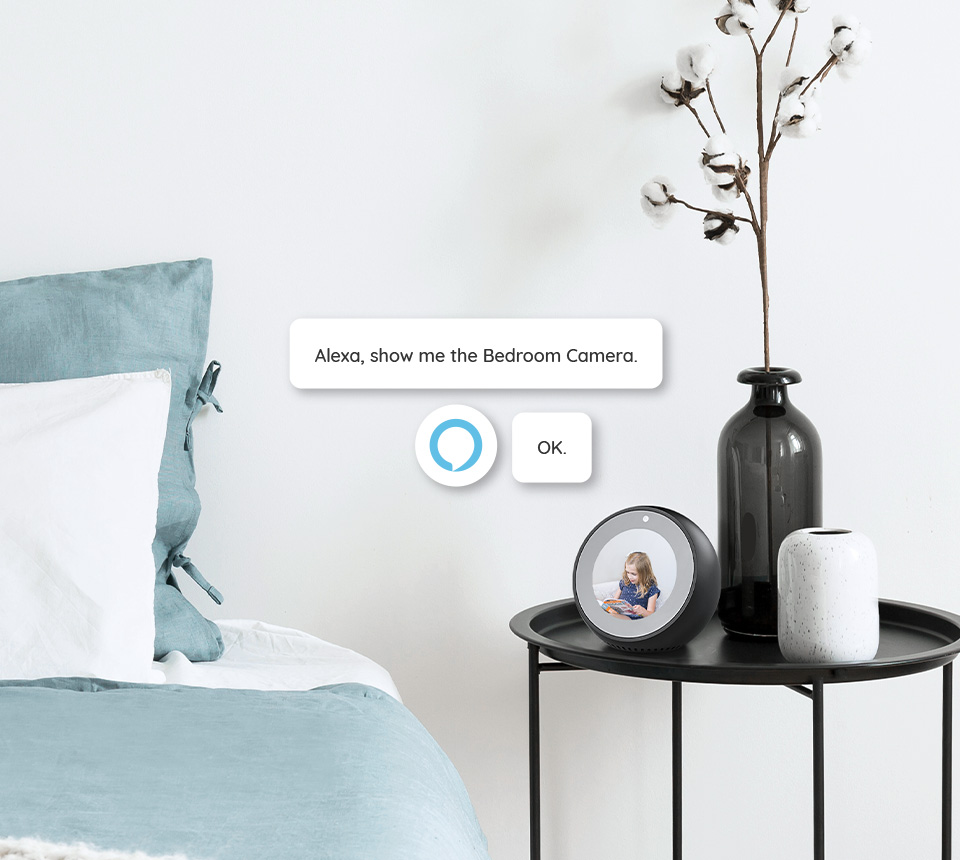 Alexa Compatible Security Camera