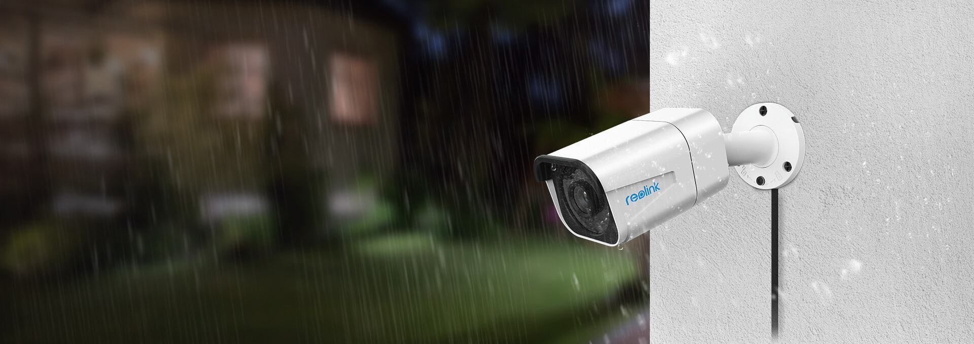 IP66 Weatherproof RLK8-800B4 4K Security Camera System
