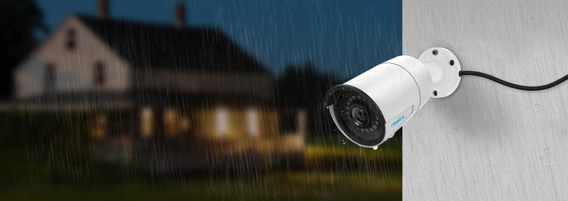 Wetterfestes Kamerasystem für Außenbereich