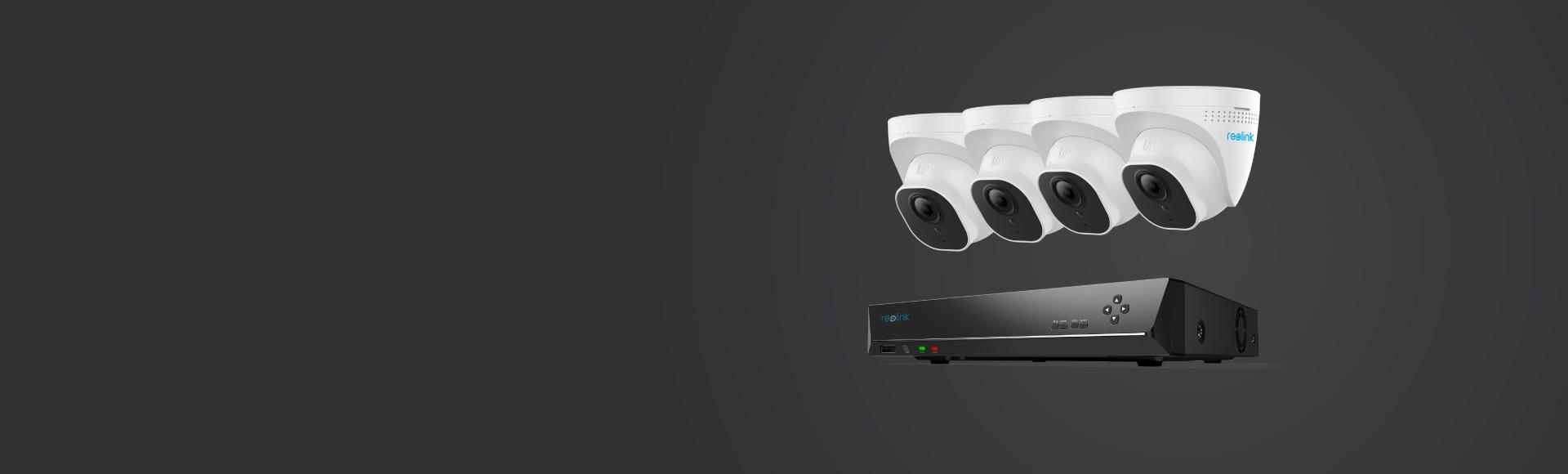 4K 8MP PoE Überwachungssystem