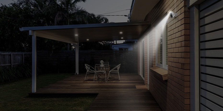 Outdoor WLAN IP-Kamera mit Motion Spotlight