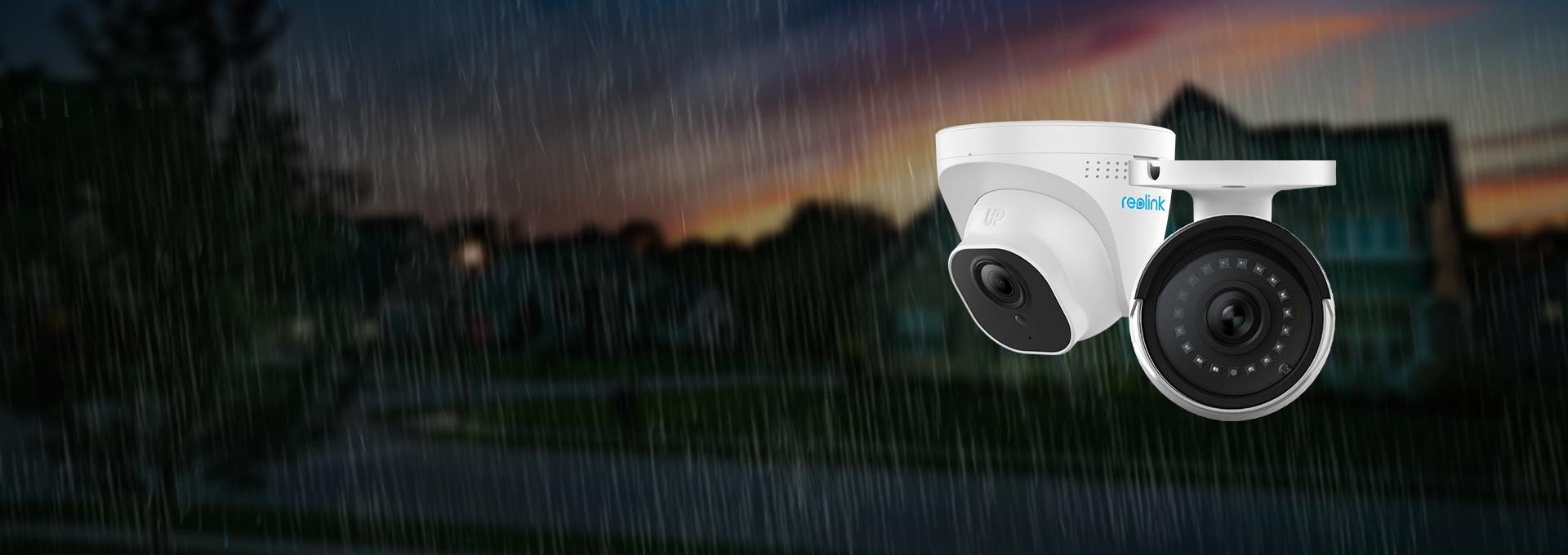 IP66 Waterproof 5MP Outdoor Indoor Security Camera System
