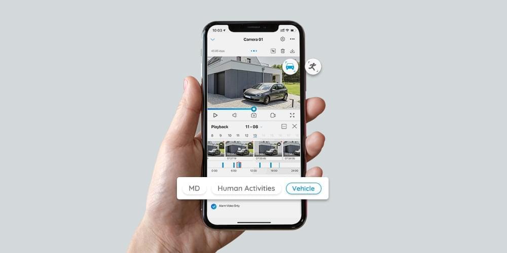 4K AI-Powered PoE Smart Home Security Camera