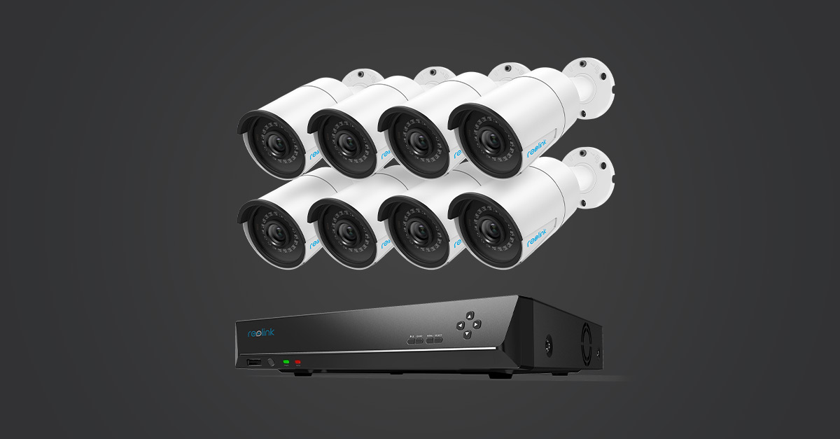 $90 off RLK16-410B8 4MP PoE Security Video System. 3TB HDD 16-Channel NVR for 24/7 Recording Was: $599.99 Now: $509.99.