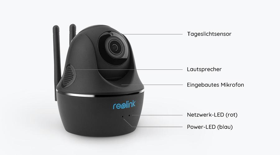 Reolink C1 Pro PT WLAN IP Kamera - Grafik