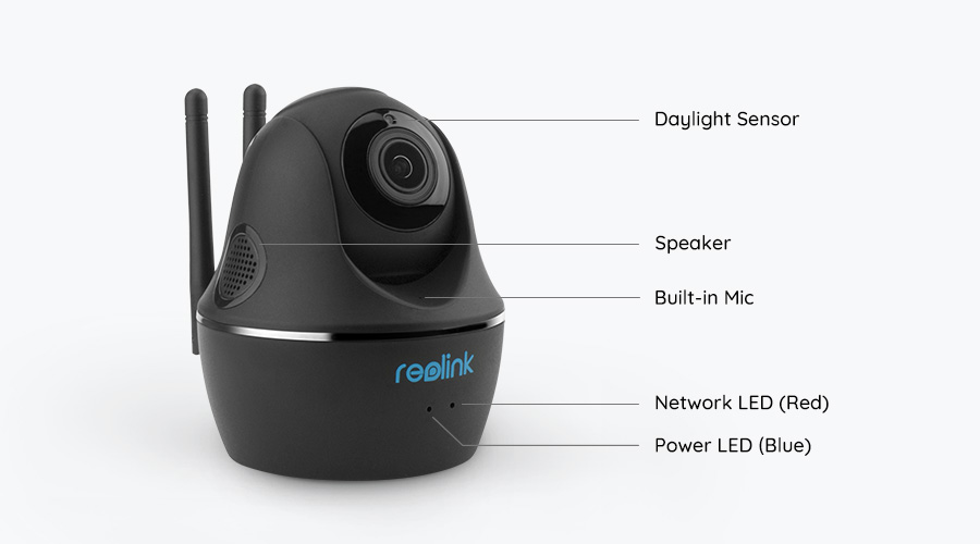 C1 Pro Wireless Security Camera With Pan And Tilt