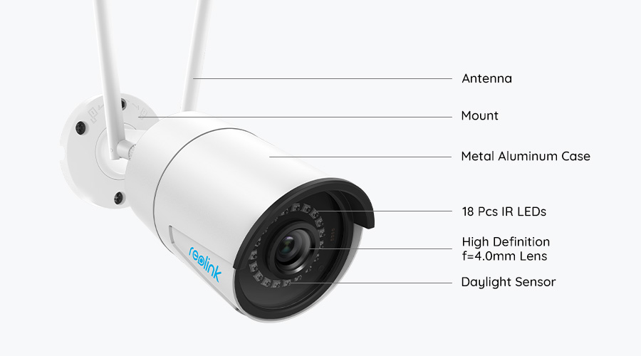 Dual Band WiFi Wireless Security Camera