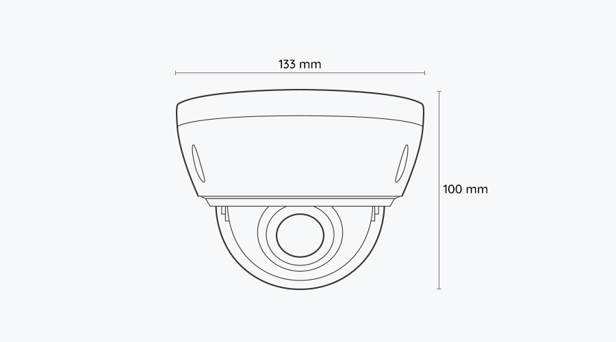 5MP PoE Outdoor Home IP Camera