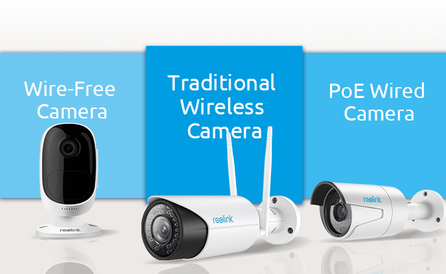de0773ece Wired vs Wireless Security Cameras — Which One to Choose — Reolink Blog