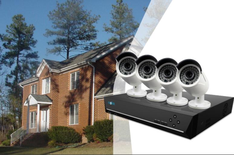 Home Alarm System with Cameras
