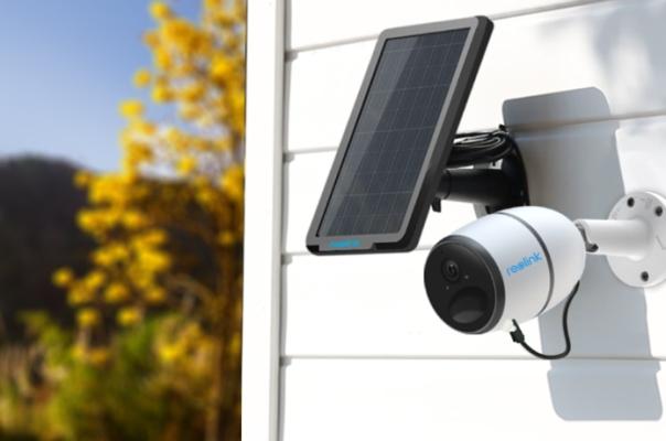 Solar Panel Security Camera