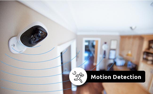 Motion Sensor Security Cameras