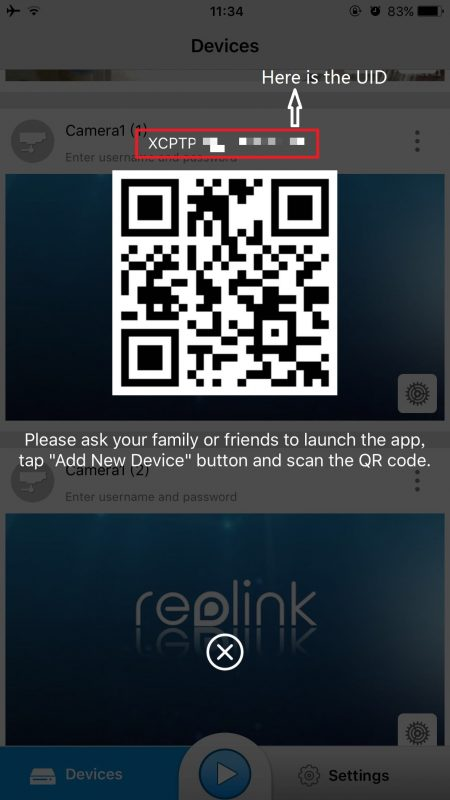 How to Find UID of Reolink Products