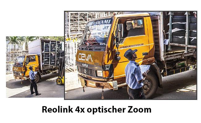 Beeindruckender 4x Optischer Zoom