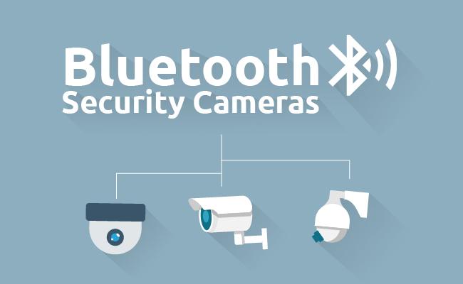 Bluetooth IP Security Cameras