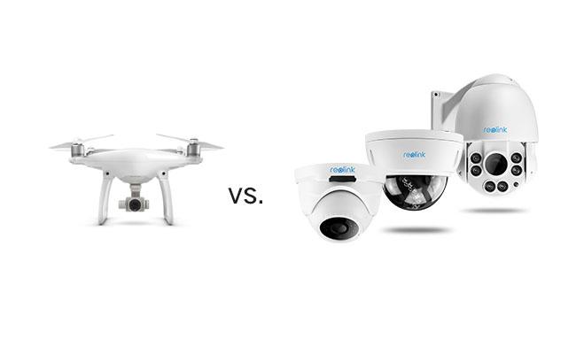 Haussicherheit Drohne VS Smarte Haussicherheit System