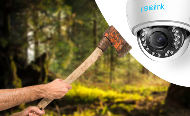 Prevent Security Cameras Being Tampered