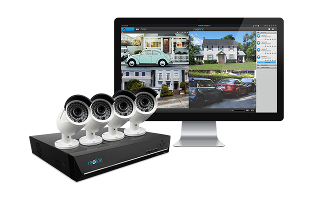 Security Camera System for Empty Nester