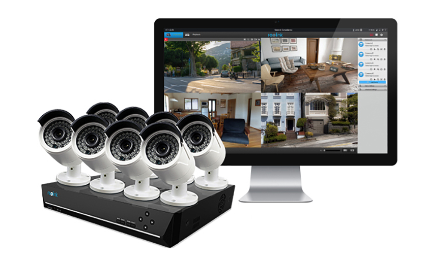 16 kanal berwachungskamerasystem einkaufsf hrer reolink. Black Bedroom Furniture Sets. Home Design Ideas