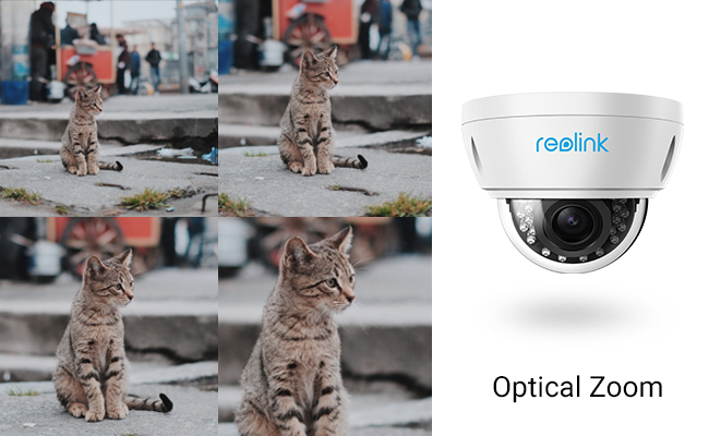 Optical Zoom Security Cameras