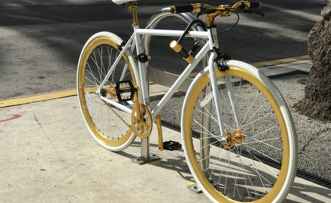 Lock Bike to Protect It from Being Stolen