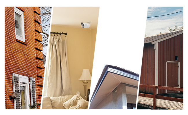 Outdoor PoE IP Camera Placement