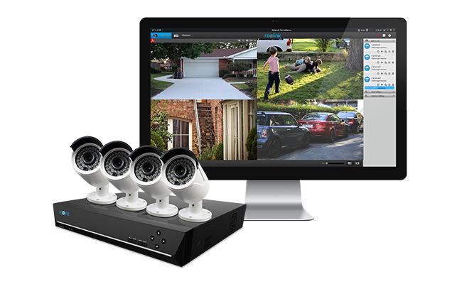 PoE Security Camera with Audio Recording