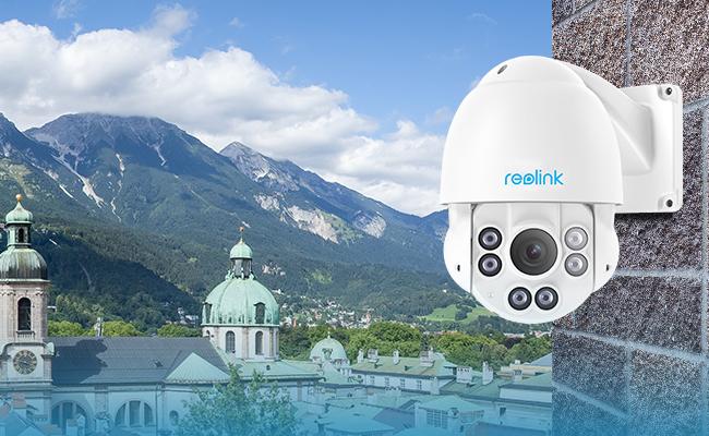 PoE PTZ Security Cameras