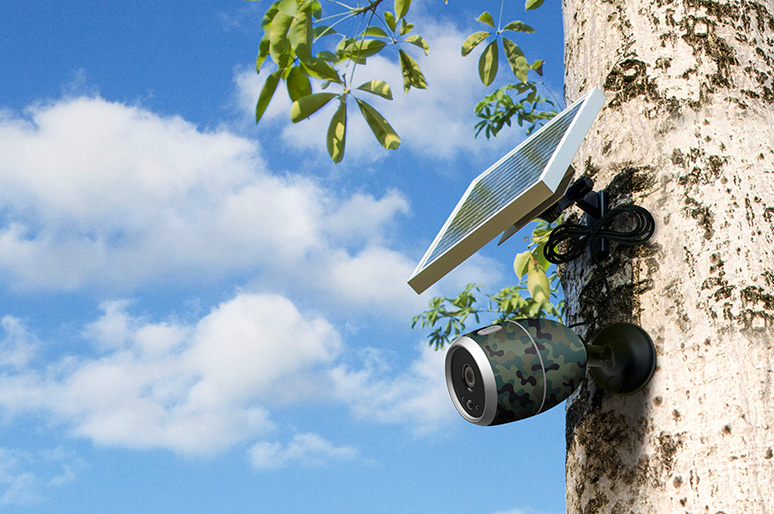 Solar Powered Wireless Security Camera: Top 2 No-Power Solutions