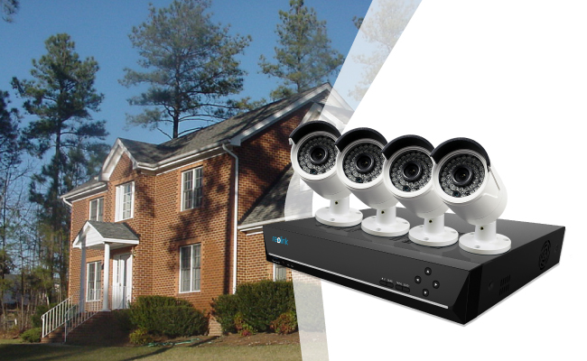 8ch Security Camera Systems