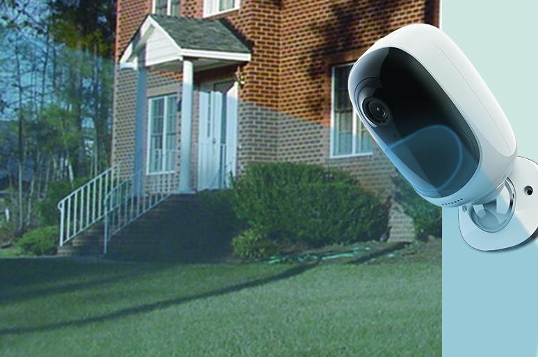 Outdoor Kamera mit Bewegungsmelder