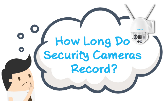Security Cameras Record