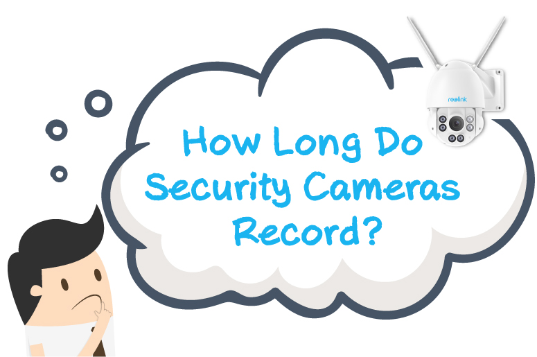 Security Cameras Record