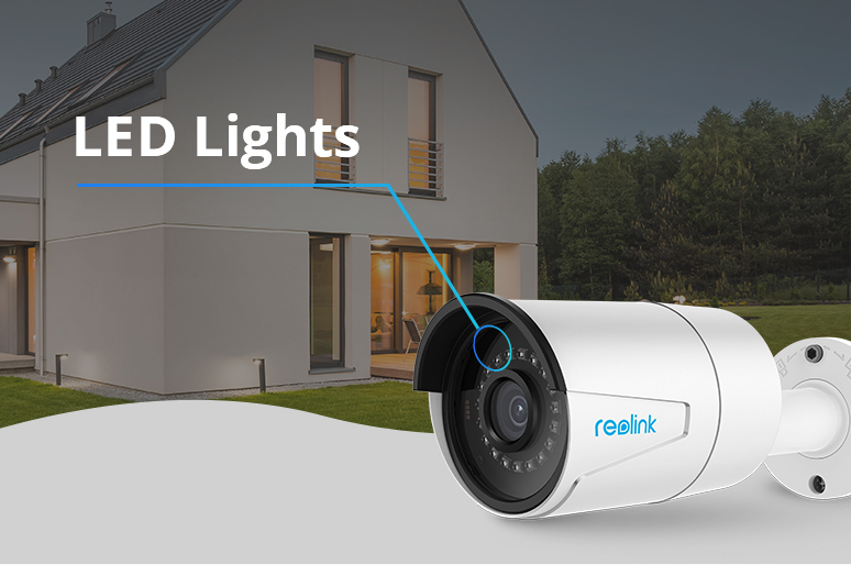 Best Security Camera with LED Lights & Way to Turn off the Red Glow