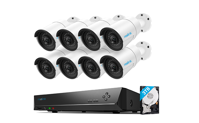 16 Channel Wired Security Camera System