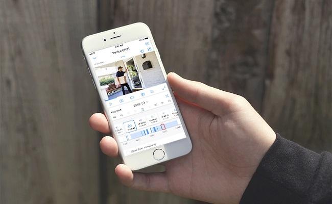 App für Überwachungskamera