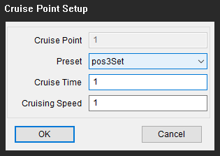 Set Up Cruise Points on PTZ Dome Cam